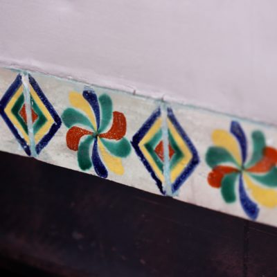 Bourne Estate Hand Painted Mexican Tile