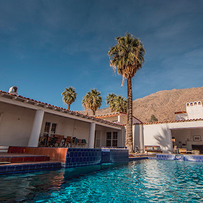 The Bourne Estate in Palm Springs by Wallace Neff
