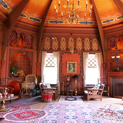 Turkish/Ottoman Room as inspired by the Chicago Worlds Fair in 1893